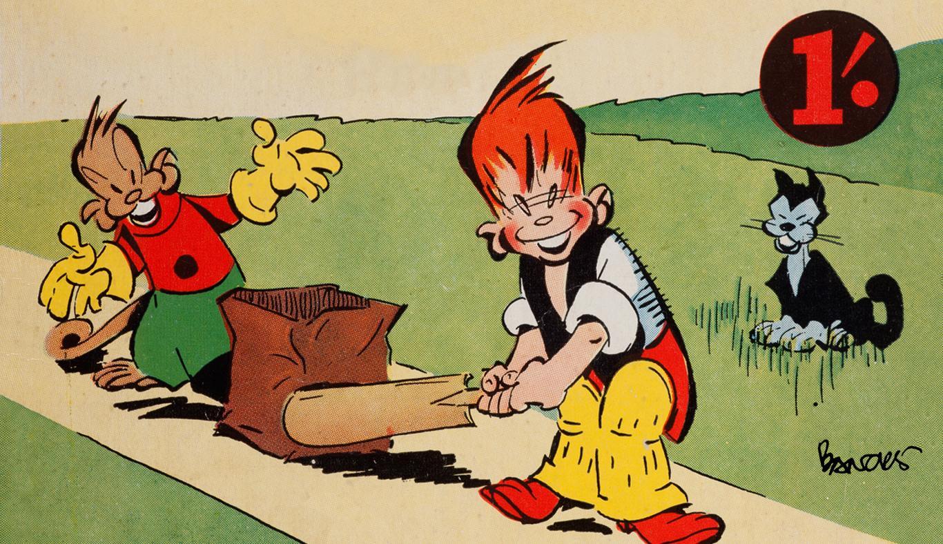 History of Comics in Australia - Ginger Meggs