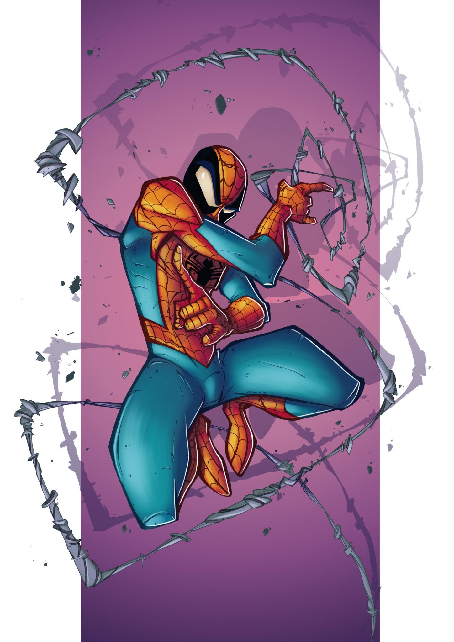 Spider-Man Illustration