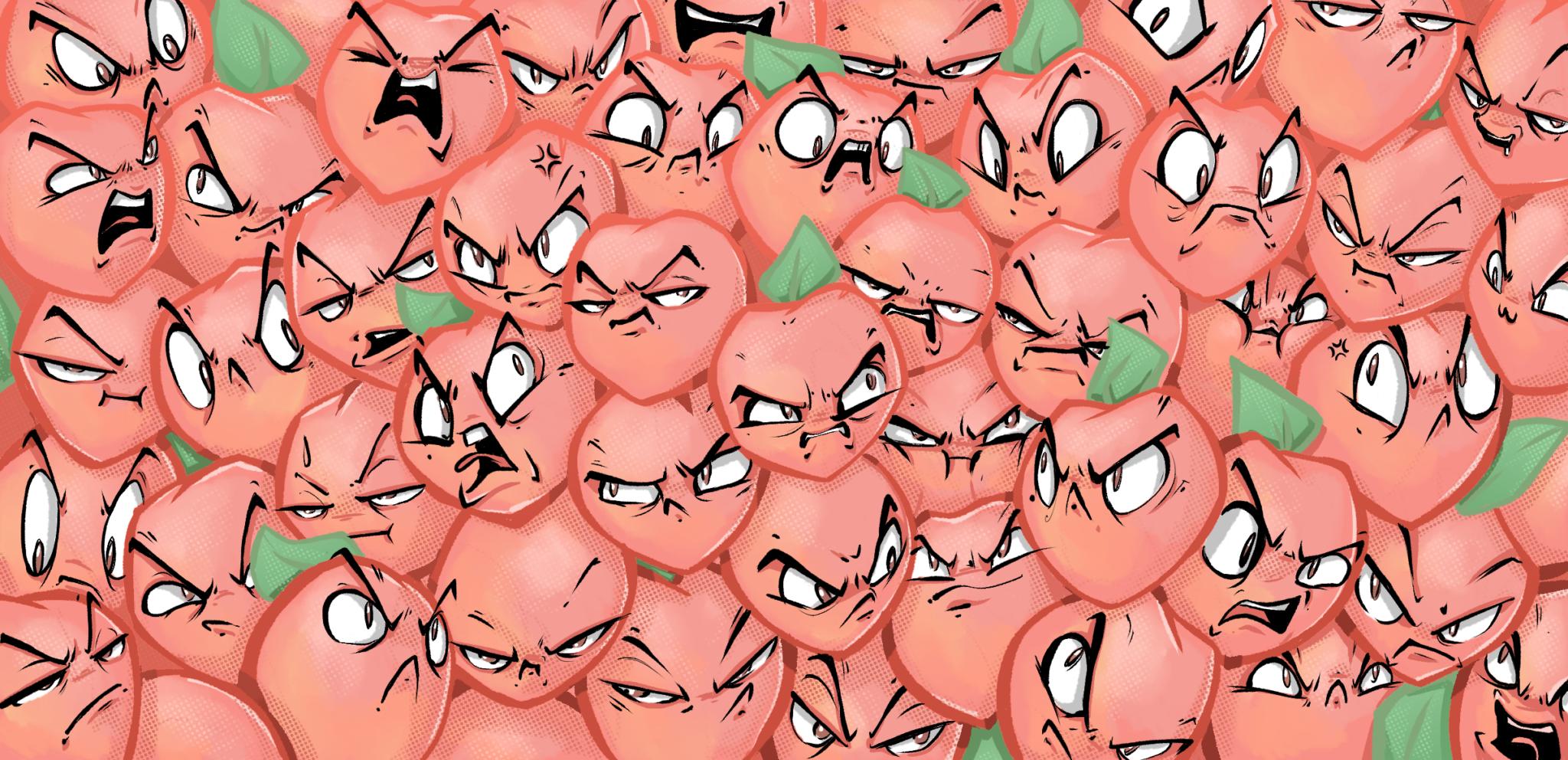 Salty Peaches